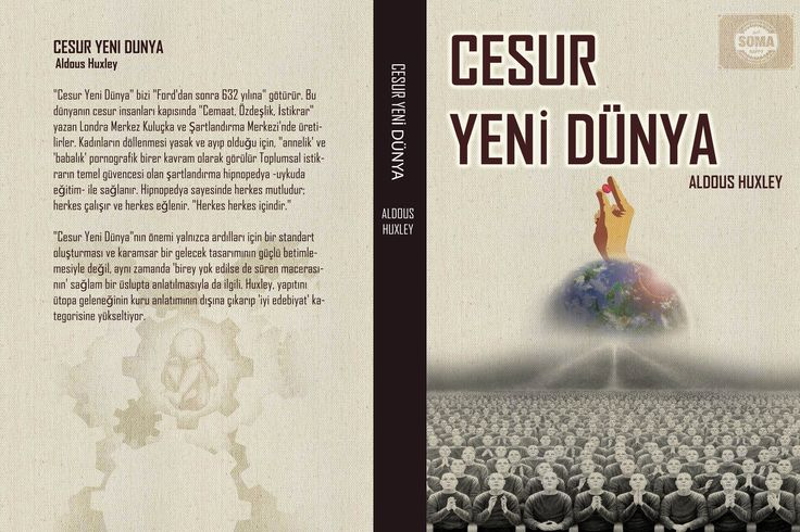 """Brave New World"" Alternatif kitap kapağı tasarımı"