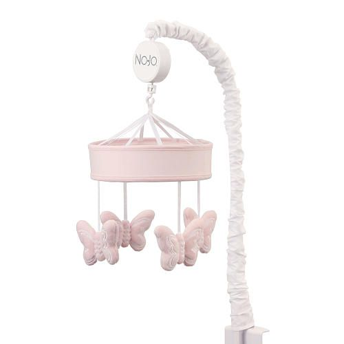 """NoJo The Dreamer Collection Pink Butterflies Musical Mobile - NoJo - Babies """"R"""" Us"""