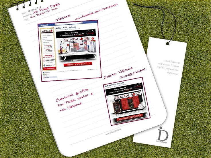 Mi Piace Pizza - Welcome    Online: http://www.facebook.com/mipiacepizza