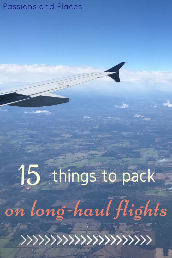 For many people, long plane rides are the worst part of travel, especially when you're in economy class or have a red-eye flight. This packing list has all the airplane essentials you need for surviving long-haul flights. Stay healthy, rested, and entertained on your next trip!