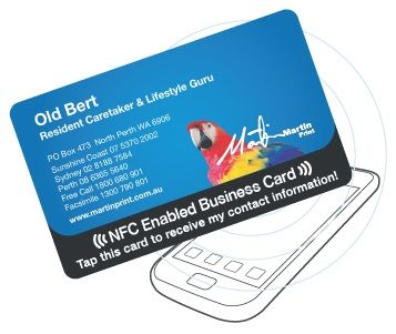 New NFC CARDS from Martin Print are embedded with a tiny customised microchip which opens up a thrilling new world of opportunities to explore on the Smartphone screen.