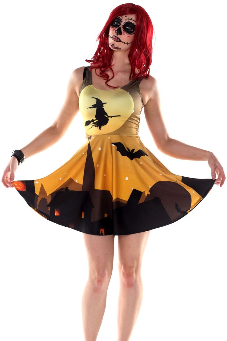 Wicked Witch Skater Dress $75 - Limited