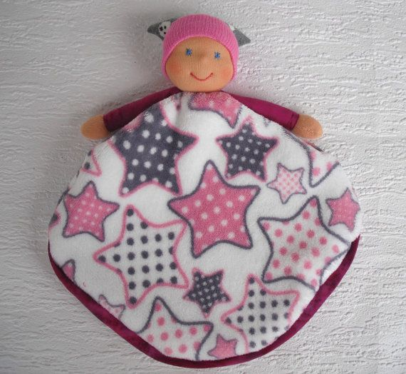Waldorf blanket doll Baby minky blanket for by WaldorfDollsByIren