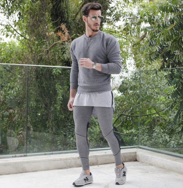 Outfit Men, Fashion Men, Men Style, New Balance, legging men, grey style, all grey, zara men - www.rodrigoperek.com