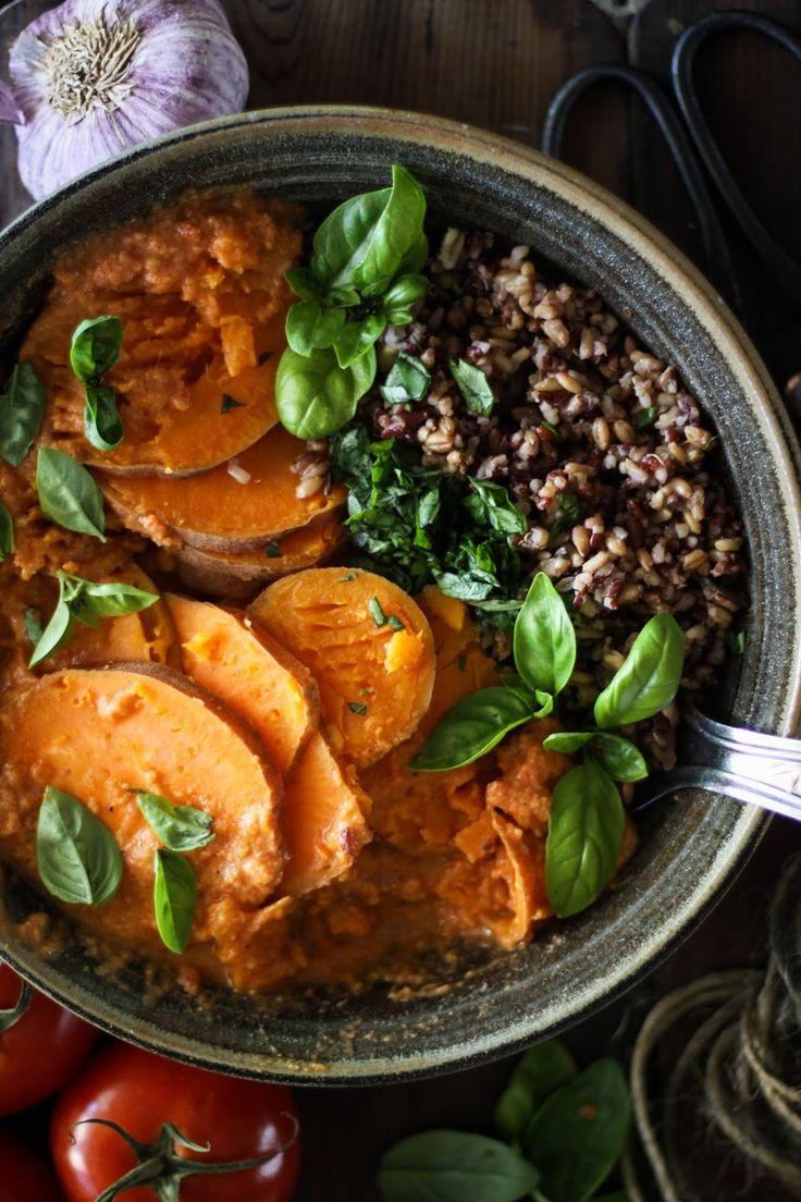 Sweet Potato and Wild Rice