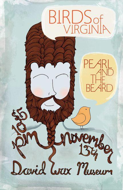 Gig posters by Jessica Rassel, via Behance