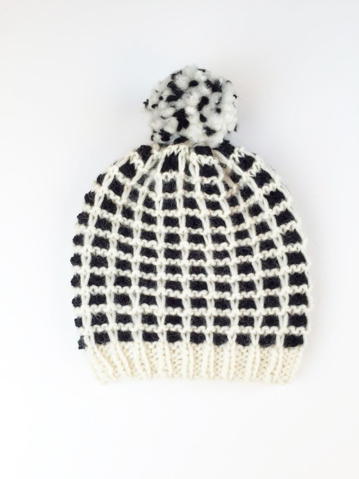 New Project: Must-Have Plaid Hat - Yarnspirations Blog