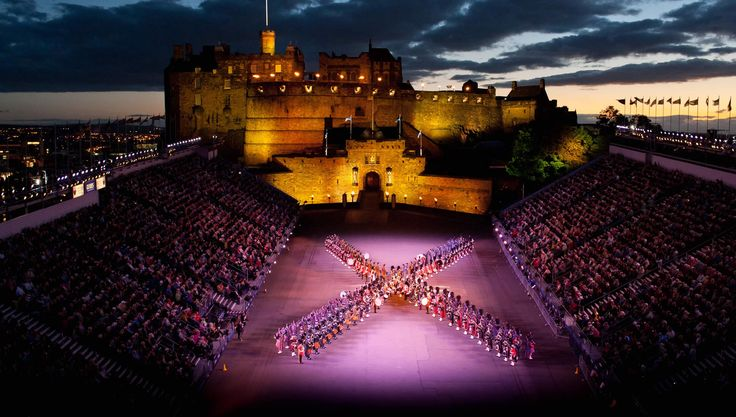 Royal Military Tattoo - Performance Dates and Times (esp the extended fireworks display)