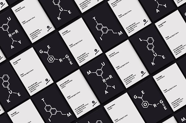 Pause Fest. Business Cards. #branding #graphicdesign