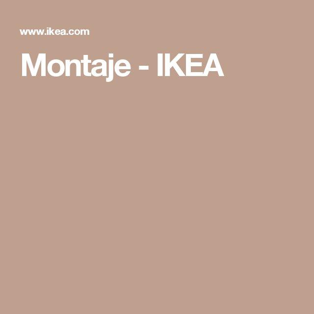 Montaje - IKEA