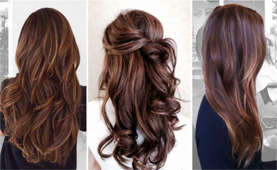 Модные цвета волос  Богатый брюнет на карамельной основе