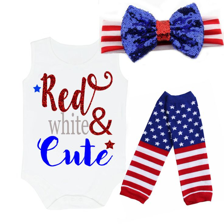 Red, White and Cute Glitter 4th of July Shirt or Outfit For Girls  This is an exclusive and original design by All That Glitters & Gold! Are you looking for something really cute and unique for your little one to celebrate 4th of July in? If so, our new glitter fourth of July outfit for baby girls and little girls are the perfect item. It's absolutely cute, stylish and outright adorable. Perfect for birthday parties, photos and so much more.  Buy 2 if you have more than one little girl to sh