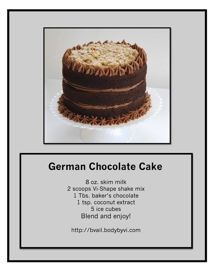 X German Chocolate Cake