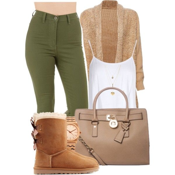 A fashion look from January 2015 featuring loose cardigan, cami crop top and high rise skinny jeans. Browse and shop related looks.