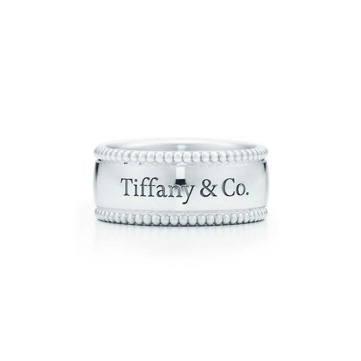 """Tiffany Yours """"Tiffany & Co.®"""" ring in sterling silver. 