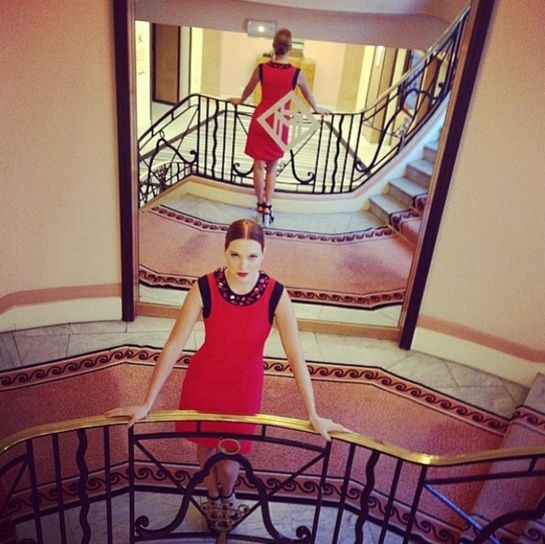 Le premier cliché Instagram de Léa Seydoux http://www.vogue.fr/mode/experiences-digitales/diaporama/le-festival-de-cannes-sur-instagram-jour3-1/18785/image/1001206#!le-premier-cliche-instagram-de-lea-seydoux-festival-de-cannes-2014