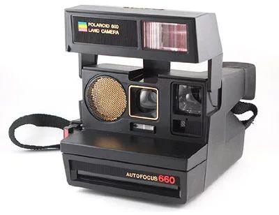 Cámara instantánea Polaroid 660 Autofocus