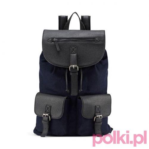 Czarny plecak Aldo #polkipl