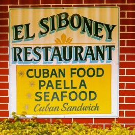 Great Cuban Food in Key West - It's No Frills Decor, but that is not why people flock to this place, the food is Cuban home cooking at it's finest.