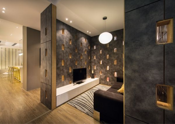 152 best hdb interior decor images on pinterest for Interior designs for flats