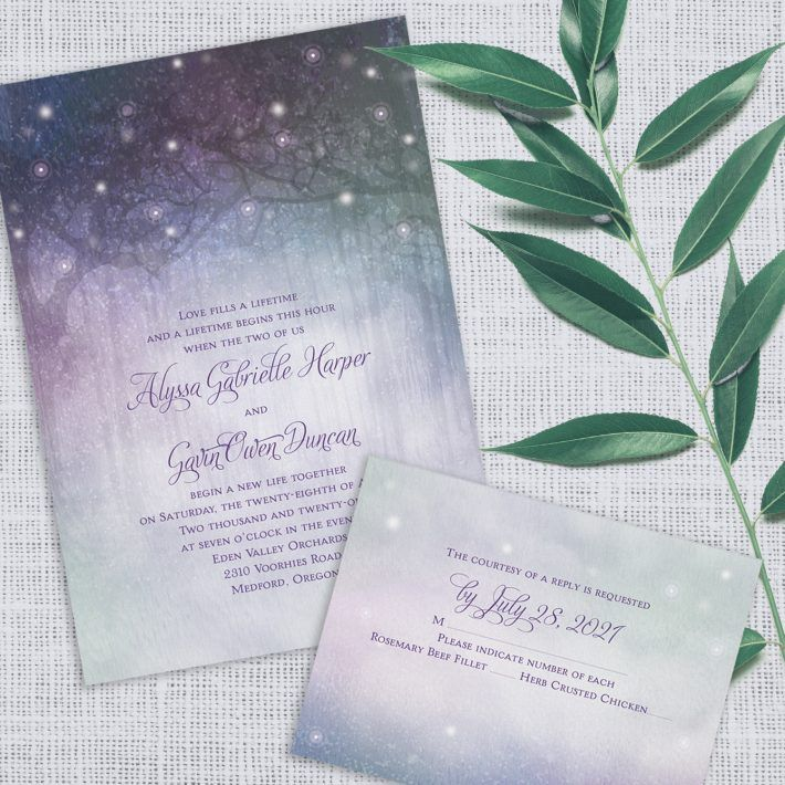 Wedding invitations that are on trend easy