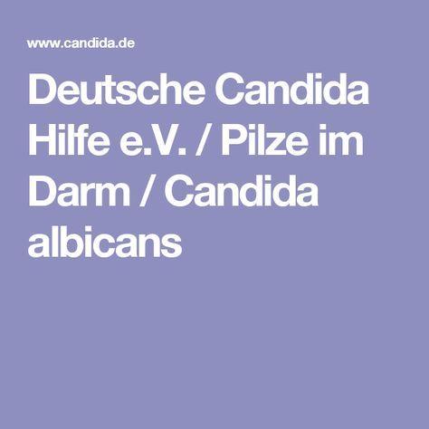 Deutsche Candida Hilfe e.V. / Pilze im Darm / Candida albicans