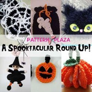 roundup 6 free crochet halloween patterns curated by pattern plaza