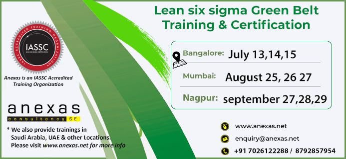 The Lean Six Sigma Green Belt Is Vital For Organizations That Encourage Employees To Take On Quality Projects And Lean Six Sigma Classroom Training Green Belt