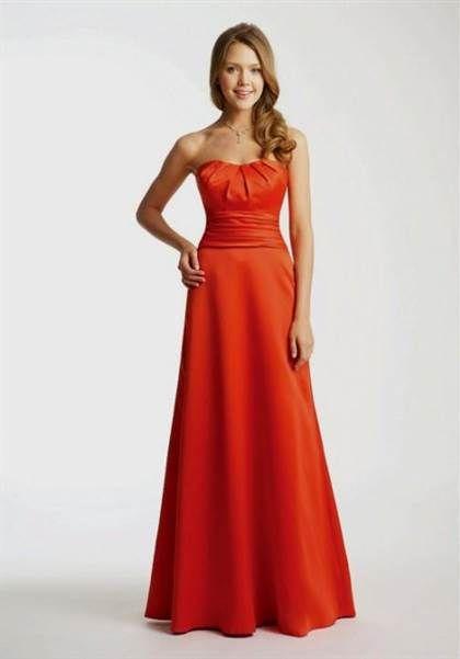 09df48989ae Awesome Dark orange bridesmaid dress