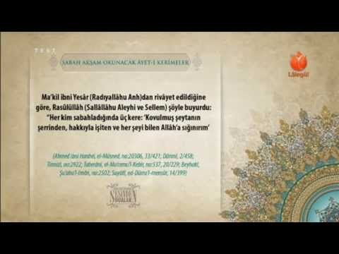 Cübbeli Ahmet Hoca sabah akşam okunacak dualar