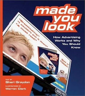 Links for advertising sites and book recommendations for teaching media literacy