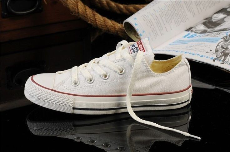 Women Lady All Stars Chuck Taylor Ox Low Top Classic White Canvas Sneakers Us11