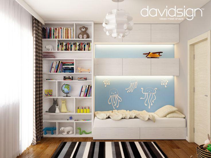 Design apartament Bucuresti - camera baiatului