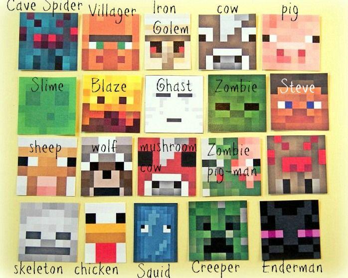 Minecraft Main Character Face Blaze Costume