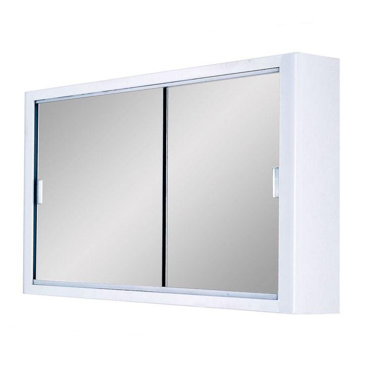 door sliding mirror cabinet 765x460x143mm double sliding mirror doors