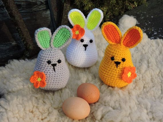 Amigurumi Crochet Pattern - Easter Bunny, Crochet Rabbit, E-Book, Crochet Bunny Tutorial