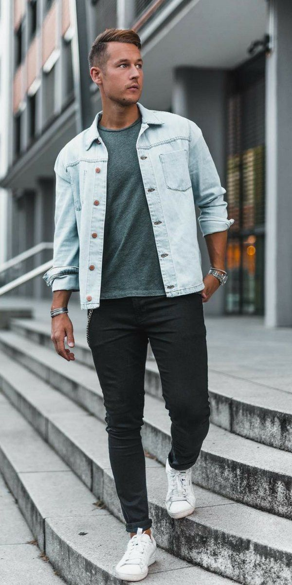 84f859648193 Love black jeans  Then you are going to love these 5 amazing black jeans  outfits for men.  black  jeans  denim  outfit  ideas  mens  fashion  street   style