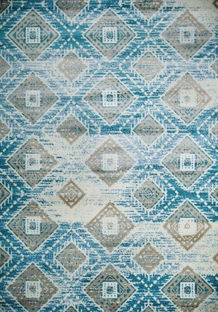 blue mayan aztec oriental clearance area rugs for bedroom living room bargain area rugs