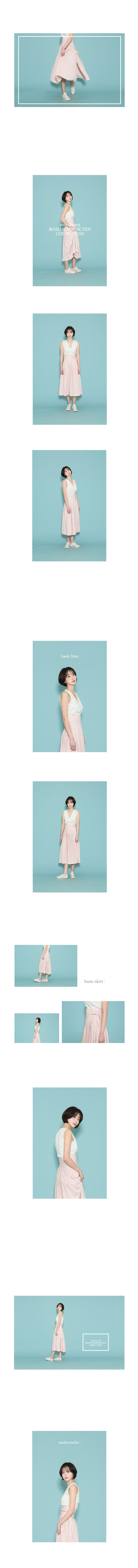 "#hanbok ""rose quartz"" skirt 장미 허리치마_로즈쿼츠"