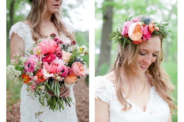 Love the flower crown!!  Munster Rose | Floral Design | Styling | Design | MPLS