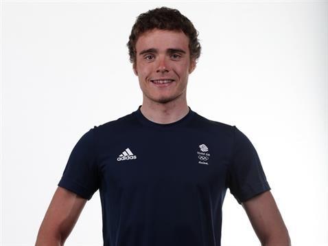 Olympic Hero Steven Burke At Turf Moor On Monday