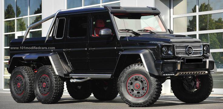 Modified mercedes benz g63 w463 amg 6 wheels http www for Mercedes benz 6 wheel