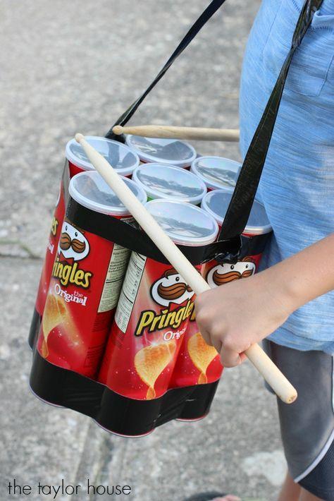 15 idées originales pour recycler des boites de Pringles - Page 2 sur 3 - Des idées