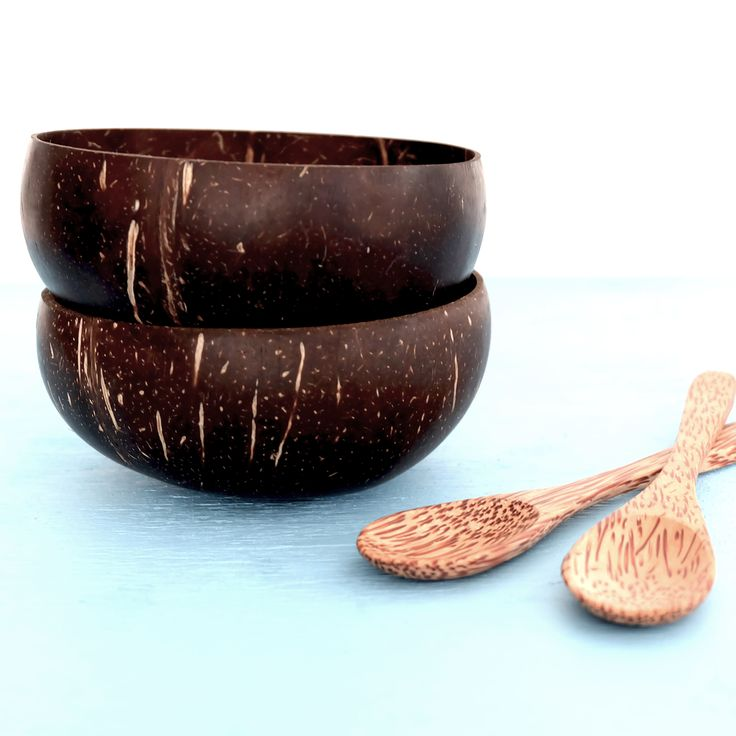 Coconut Bowl & Spoon Pack