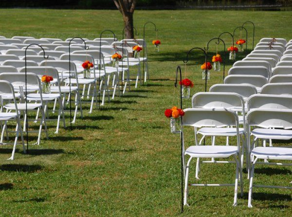 Brown Chairs Outdoor Ceremony Decorations: Best 20+ Outdoor Wedding Aisles Ideas On Pinterest