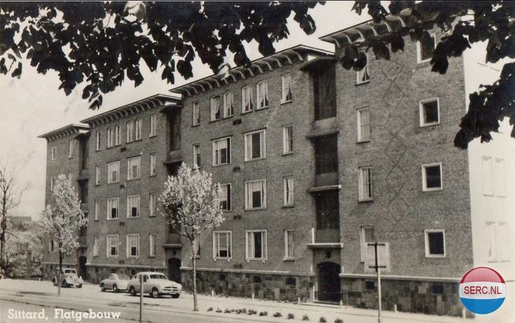 Deken Tijssenstraat Sittard (jaartal: 1950 tot 1960) - Foto's SERC