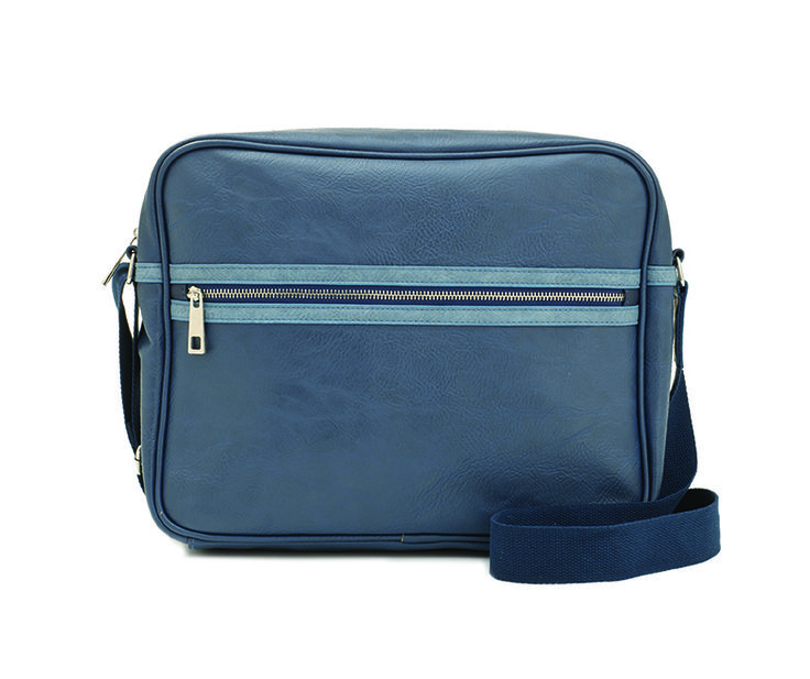 Gents Striped messenger
