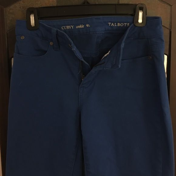 Talbot's Ankle Length Pants Ankle length pants; Curvy; 4Long/tall Talbots Pants Ankle & Cropped
