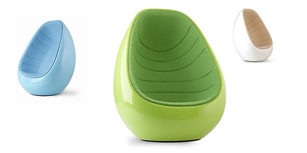 koop-chairs from Wharfside. They look so cute. I really want to have one. I think the Green looks especially beautiful.