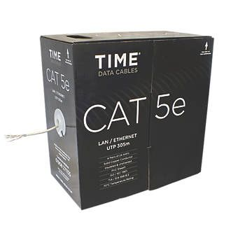 best ideas about cable ethernet cable ethernet time cat 5e utp ethernet cable 305m grey cable screwfix com
